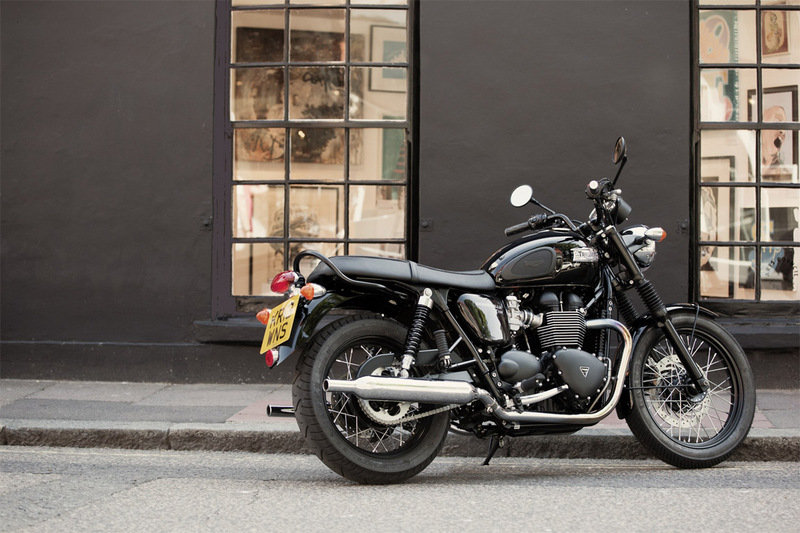 2014 Triumph Bonneville T100 Black High Resolution Exterior - image 535299