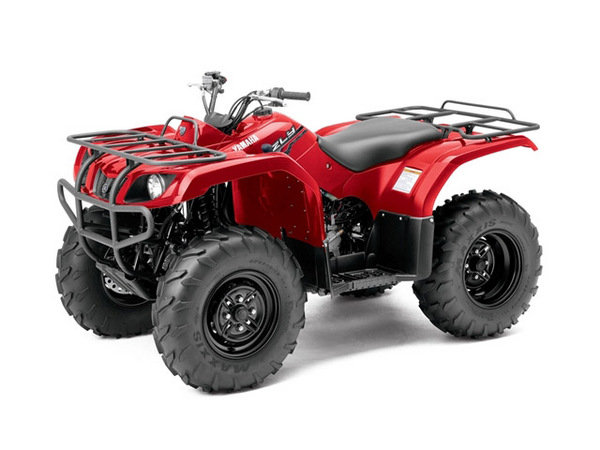 2014 Yamaha Grizzly 350 | motorcycle review @ Top Speed