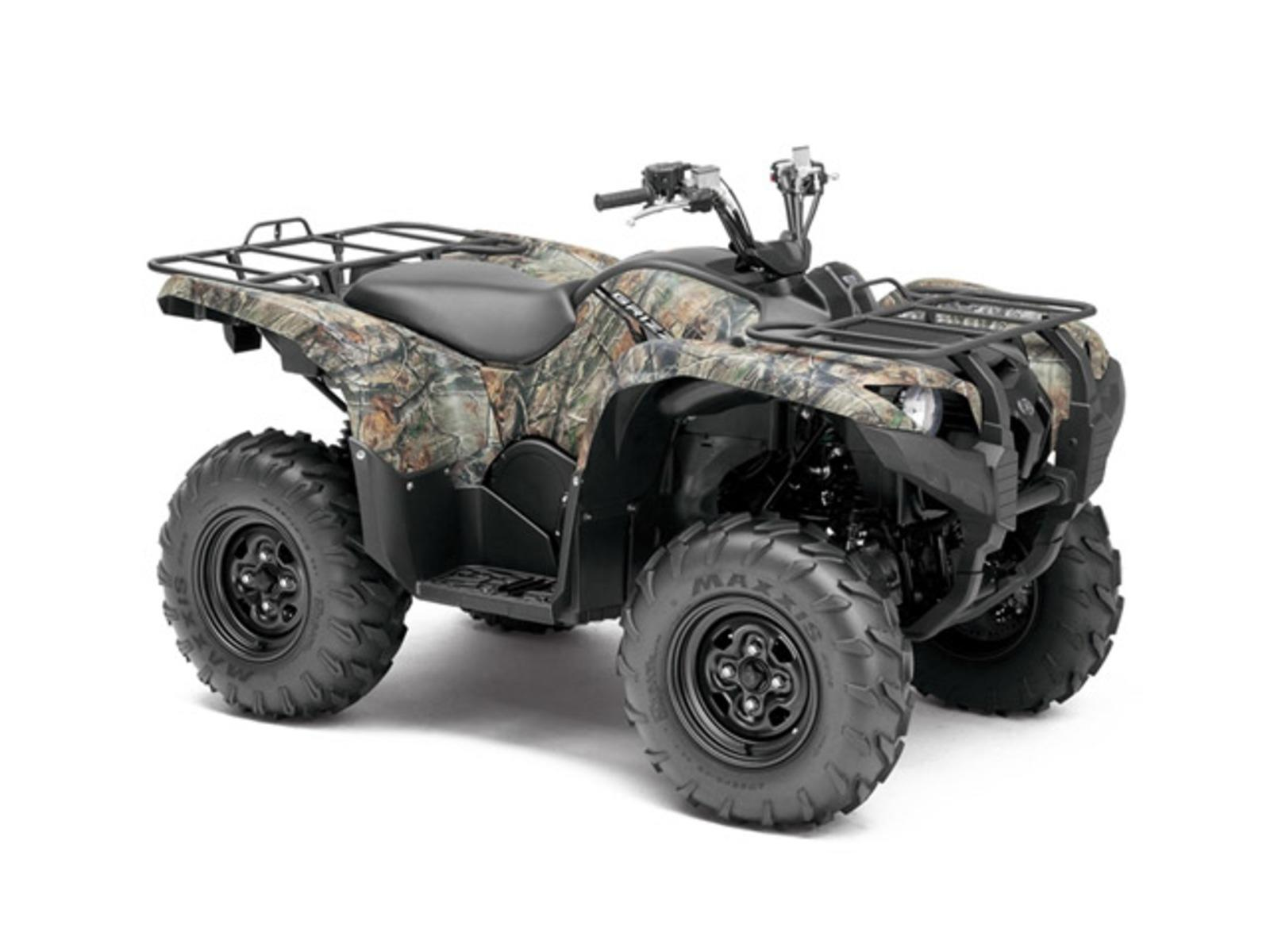 2014 Yamaha Grizzly 550 Fi Review