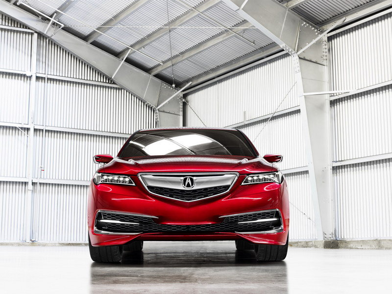 2015 Acura TLX Prototype High Resolution Exterior - image 538424