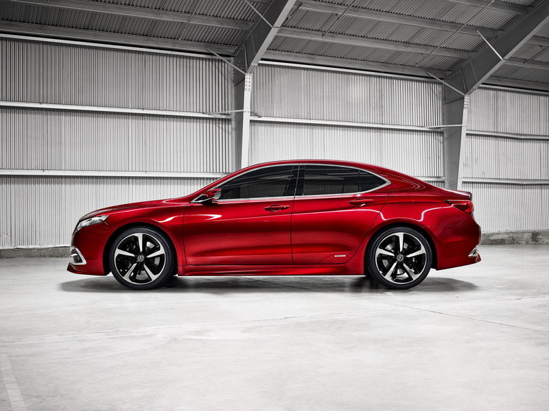 2015 Acura TLX Prototype High Resolution Exterior - image 538425