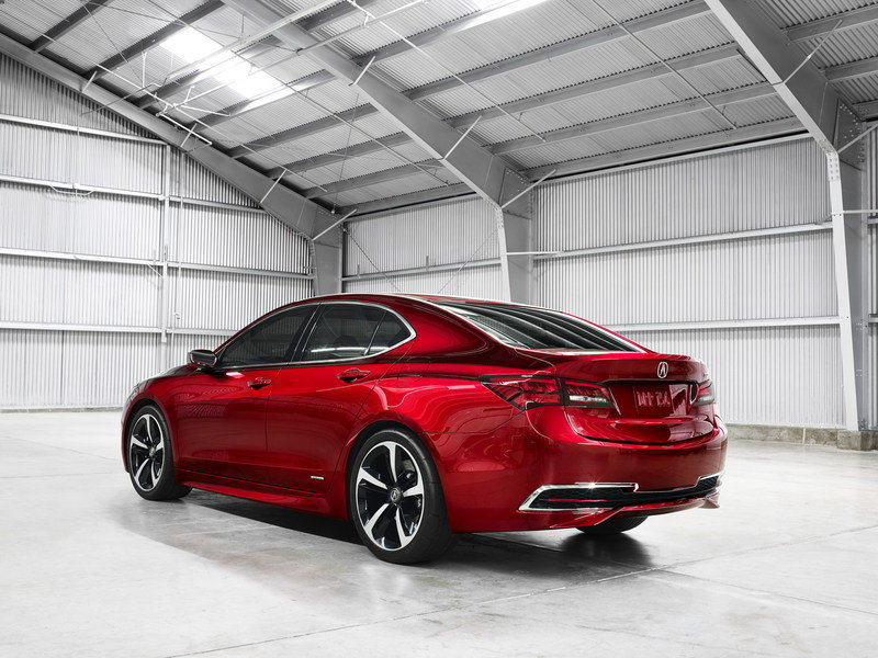 2015 Acura TLX Prototype High Resolution Exterior - image 538426