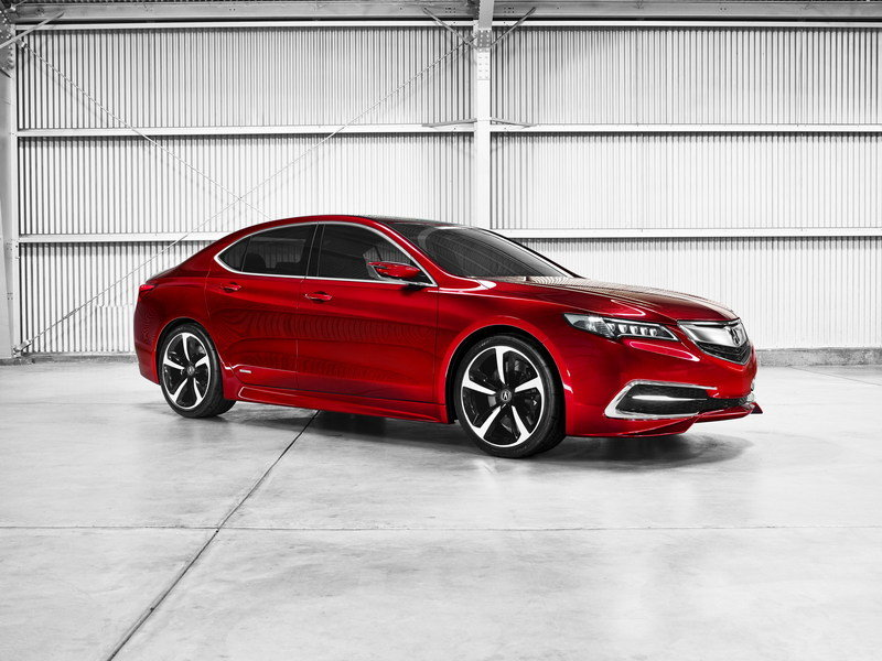 2015 Acura TLX Prototype High Resolution Exterior - image 538423