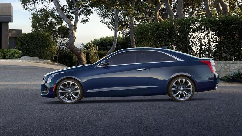 2015 Cadillac ATS Coupe High Resolution Exterior - image 538297