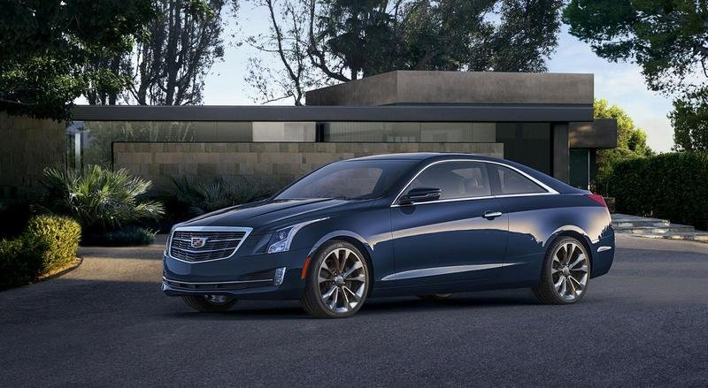 2015 Cadillac ATS Coupe High Resolution Exterior - image 538298