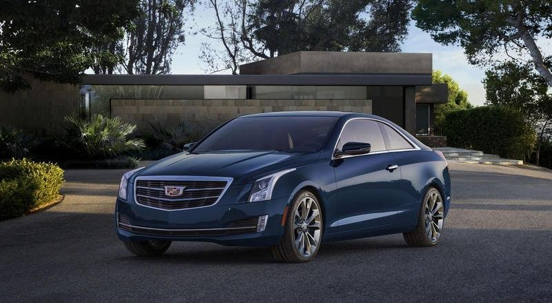 2015 Cadillac ATS Coupe High Resolution Exterior - image 538299