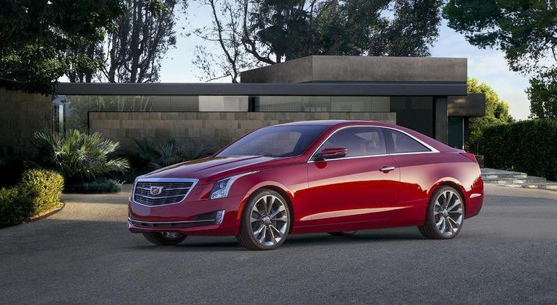 2015 Cadillac ATS Coupe High Resolution Exterior - image 538288