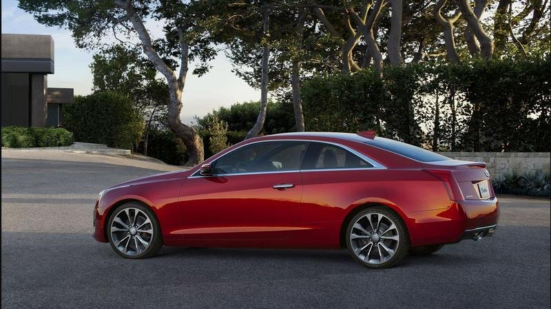 2015 Cadillac ATS Coupe High Resolution Exterior - image 538290