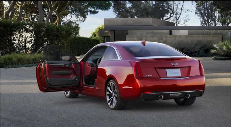 2015 Cadillac ATS Coupe High Resolution Exterior - image 538292