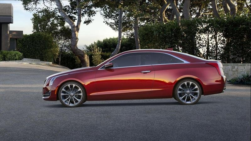 2015 Cadillac ATS Coupe High Resolution Exterior - image 538293