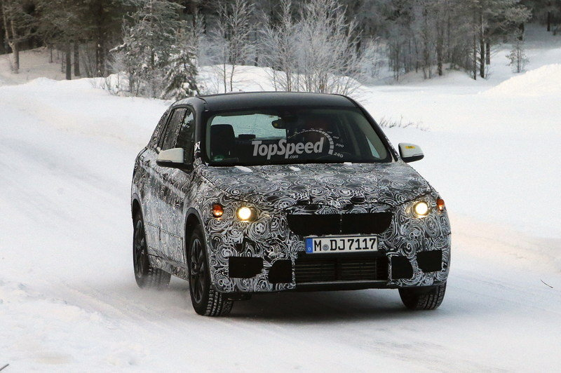 Spy Shots: 2016 BMW X1 Begins Winter Testing
