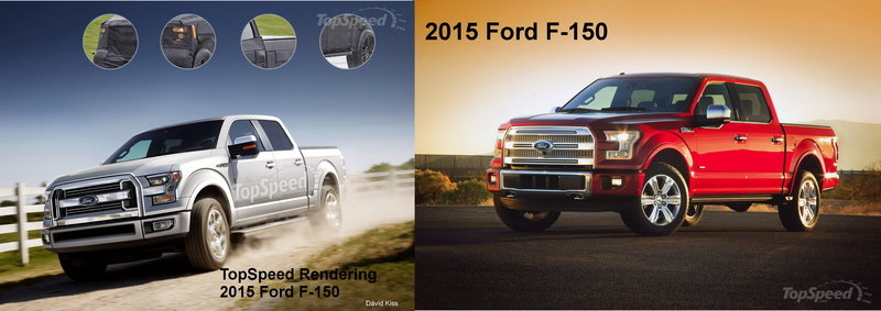 2015 Ford F-150 Exterior Computer Renderings and Photoshop - image 537960