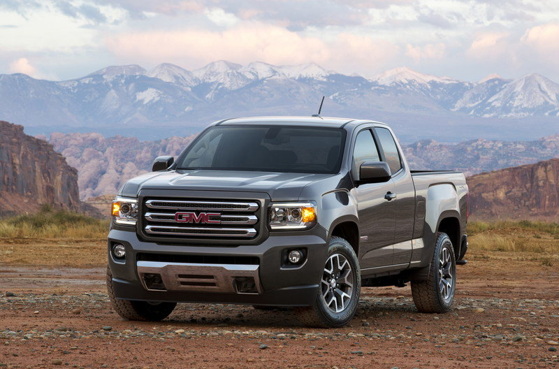 2015 GMC Canyon High Resolution Exterior - image 537885