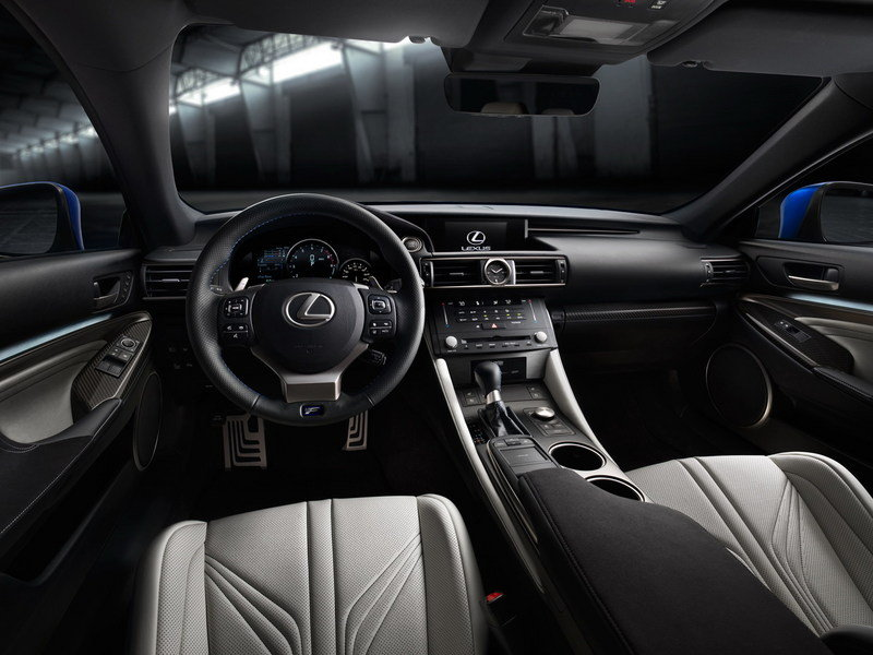 2015 Lexus RC F High Resolution Interior - image 538400