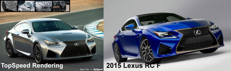 2015 Lexus RC F Exterior Computer Renderings and Photoshop - image 537675