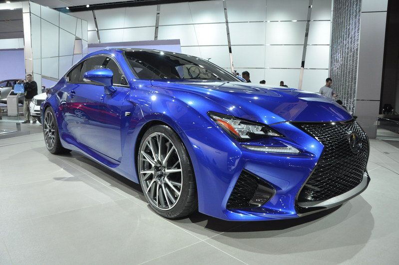 Lexus Prepares GS F and Four-Door RC F for 2016