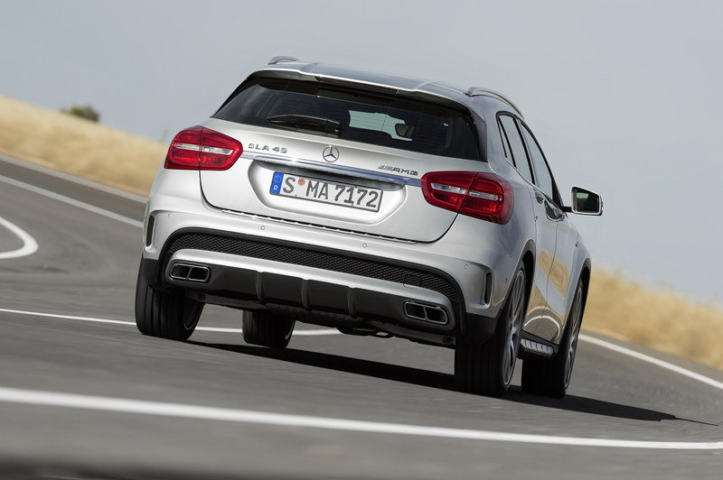 2015 Mercedes GLA45 AMG High Resolution Exterior - image 537474