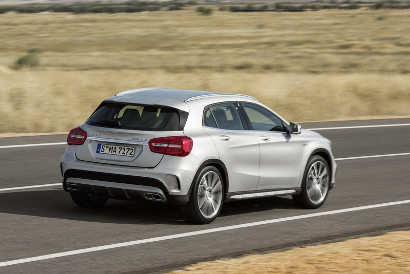 2015 Mercedes GLA45 AMG High Resolution Exterior - image 537475