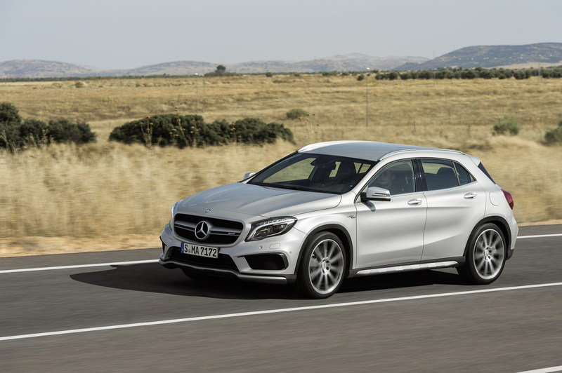 2015 Mercedes GLA45 AMG High Resolution Exterior - image 537476