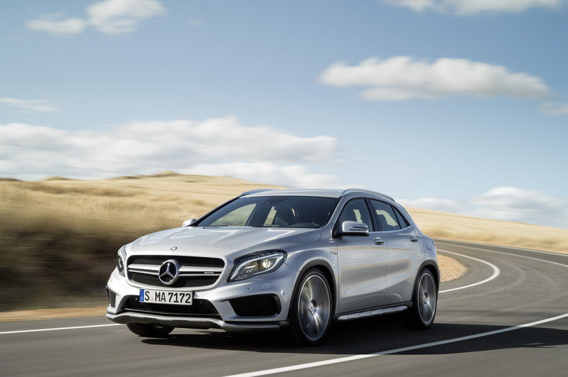 2015 Mercedes GLA45 AMG High Resolution Exterior - image 537477