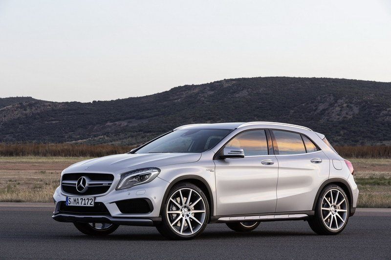 2015 Mercedes GLA45 AMG High Resolution Exterior - image 537469