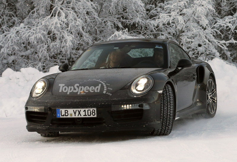 2017 Porsche 911 Turbo High Resolution Exterior Spyshots - image 539580