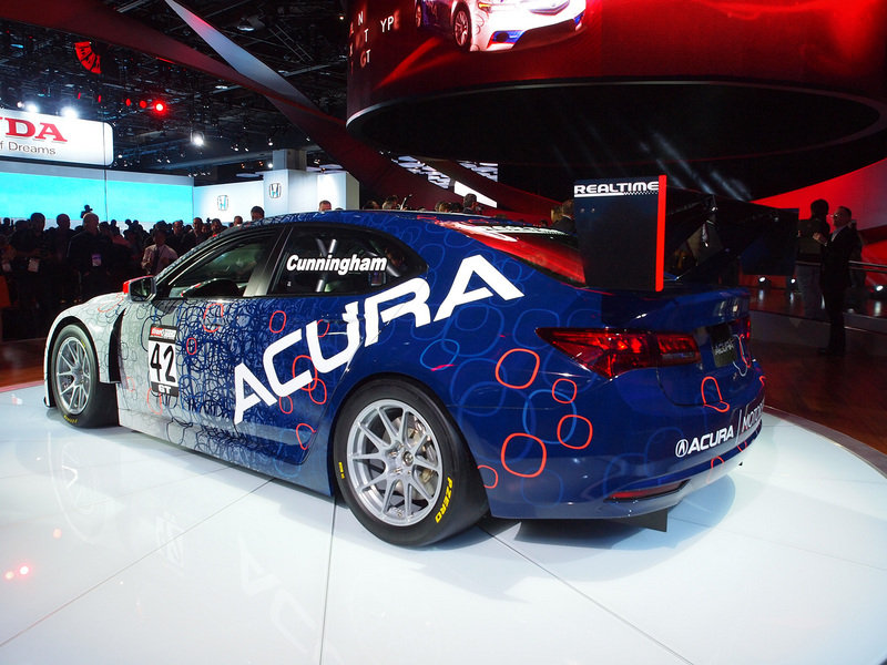 2015 Acura TLX GT Race Car Exterior AutoShow - image 538610