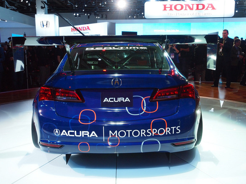 2015 Acura TLX GT Race Car Exterior AutoShow - image 538611