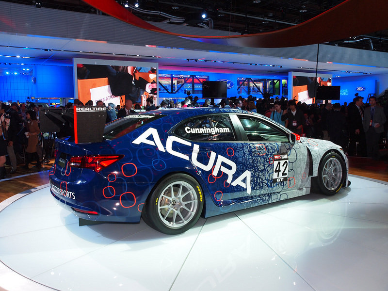 2015 Acura TLX GT Race Car Exterior AutoShow - image 538612