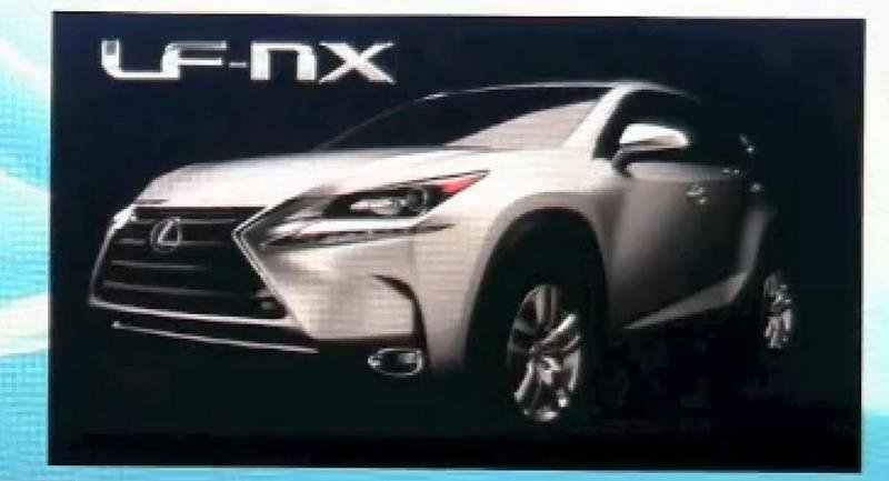 Lexus May Have Previewed the Production LF-NX at the 2014 NAIAS