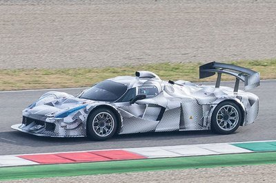 Odd LaFerrari Prototype May be Ferrari's Le Mans Racer