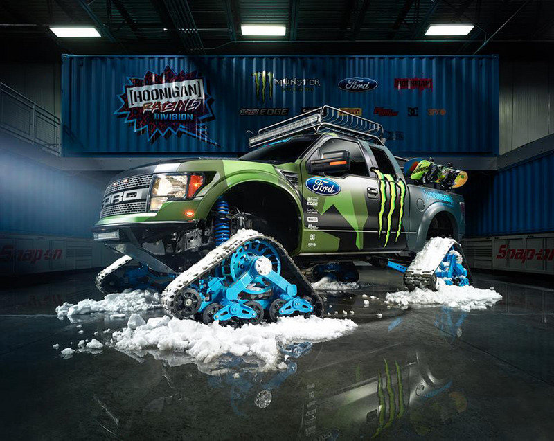 Ford F-150 RaptorTRAX by Hoonigan Racing Exterior - image 539353