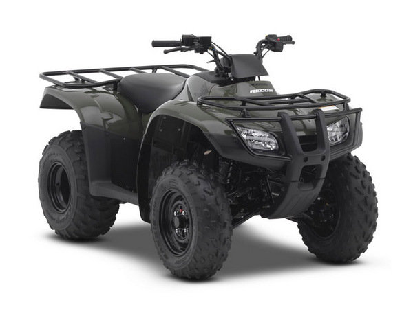 2014 Honda FourTrax Recon Review - Top Speed