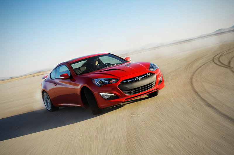Hyundai Genesis Coupe 2.0T Dropped for 2015