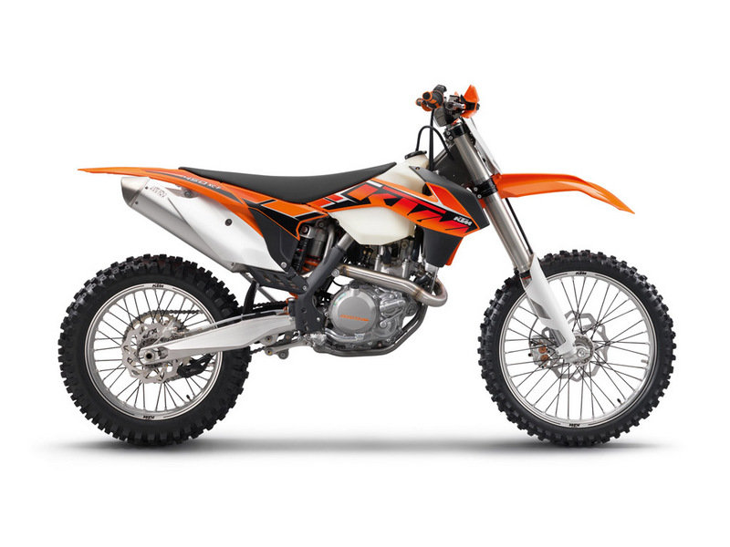 2014 KTM 450 XC-F High Resolution Exterior - image 537917