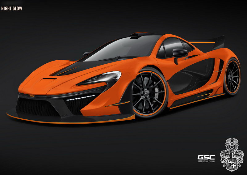 "2014 McLaren P1 ""Night Glow"" By German Special Customs"