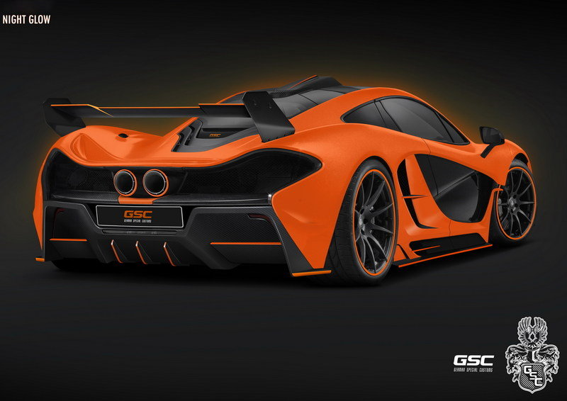 "2014 McLaren P1 ""Night Glow"" By German Special Customs High Resolution Exterior - image 537699"