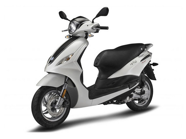 2014 piaggio fly 50 4v review - top speed