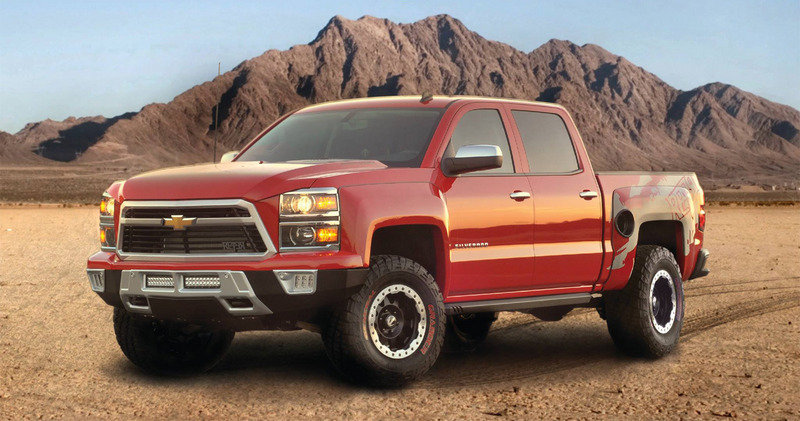 2014 Chevrolet Silverado Reaper by Southern Comfort Automotive and Lingenfelter High Resolution Exterior - image 539651