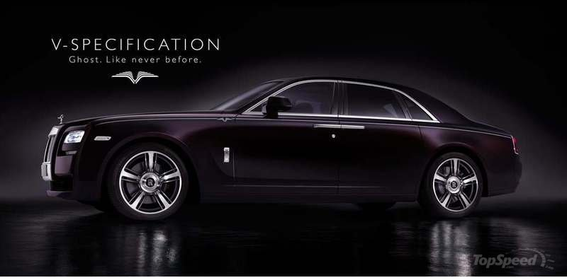 2014 Rolls-Royce Ghost V-Specification