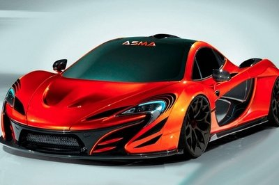2014 McLaren P1 by ASMA Design