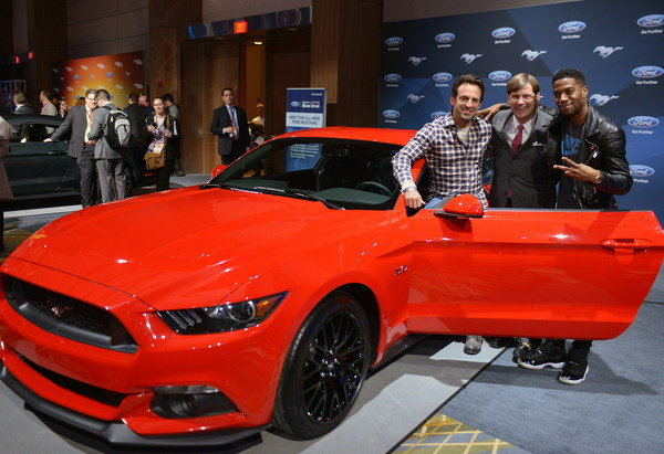 The 2015 Ford Mustang to Star in