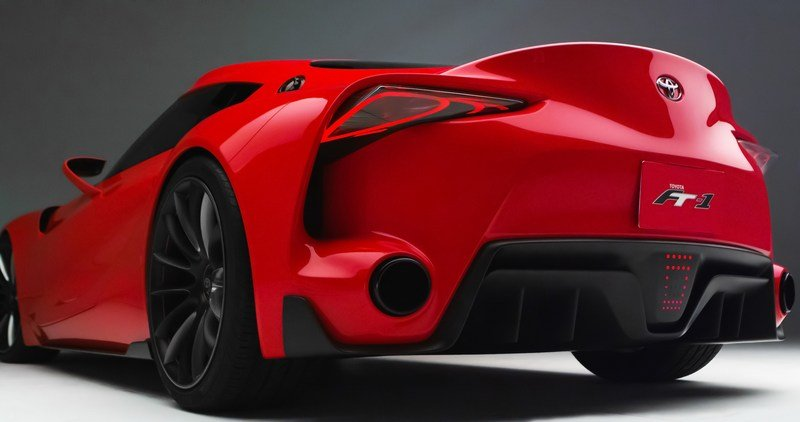 2014 Toyota FT-1 Concept High Resolution Exterior - image 537995