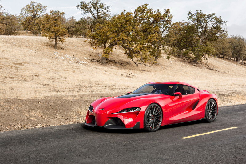 2014 Toyota FT-1 Concept High Resolution Exterior Wallpaper quality - image 538003