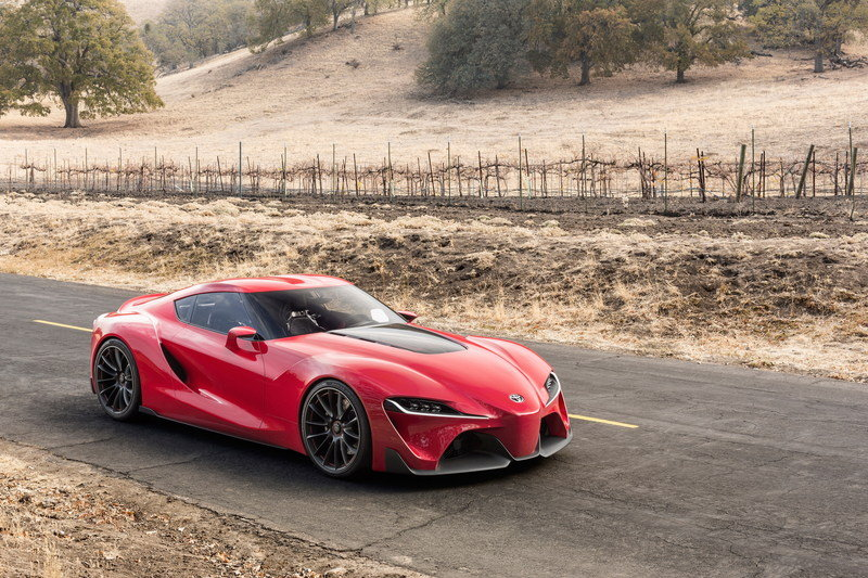 2014 Toyota FT-1 Concept High Resolution Exterior - image 537972