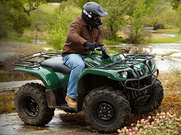 2014 Yamaha Grizzly 350 Automatic Motorcycle Review
