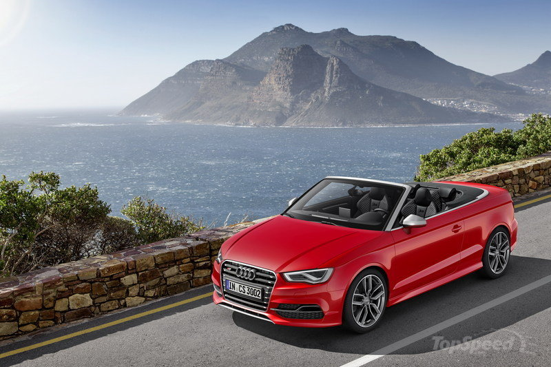 2015 Audi S3 Convertible High Resolution Exterior - image 542788