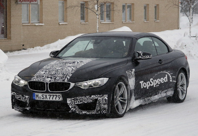 Spy Shots: BMW M4 Convertible Testing in Scandinavia