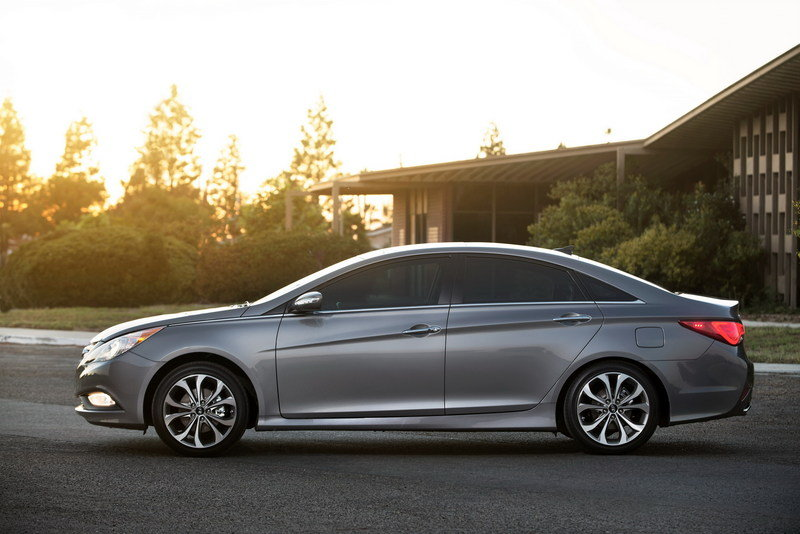 2014 Hyundai Sonata High Resolution Exterior - image 540635