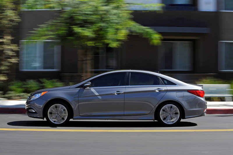2014 Hyundai Sonata High Resolution Exterior - image 540640